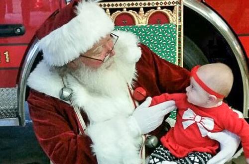 Santa Jersey Joe - Santa Visit